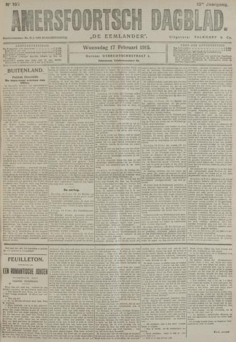 Amersfoortsch Dagblad / De Eemlander 1915-02-17