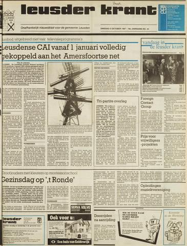 Leusder Krant 1987-10-06