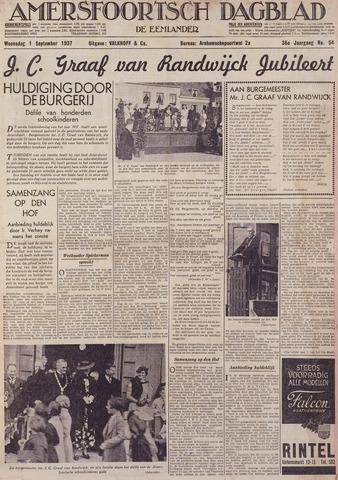 Amersfoortsch Dagblad / De Eemlander 1937-09-01