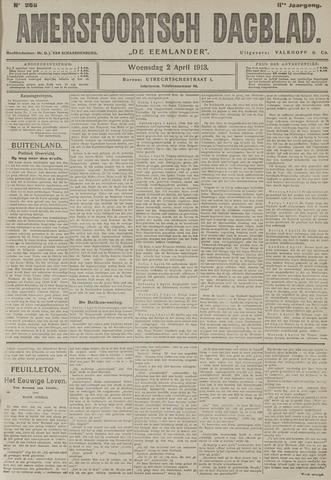 Amersfoortsch Dagblad / De Eemlander 1913-04-02