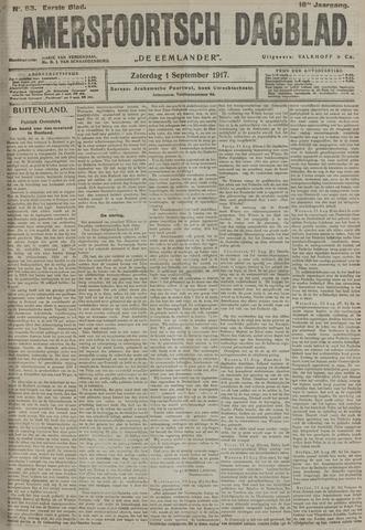 Amersfoortsch Dagblad / De Eemlander 1917-09-01
