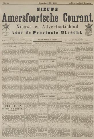Nieuwe Amersfoortsche Courant 1899-05-03