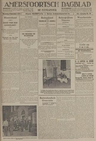 Amersfoortsch Dagblad / De Eemlander 1933-09-06