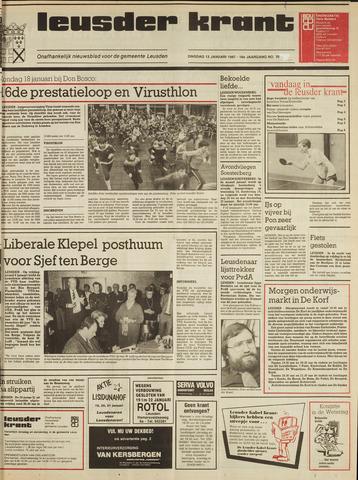Leusder Krant 1987-01-13