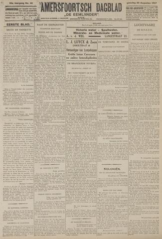 Amersfoortsch Dagblad / De Eemlander 1927-08-23