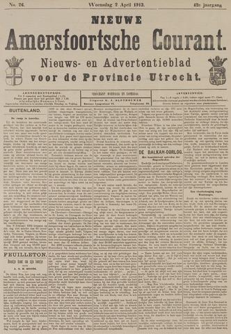 Nieuwe Amersfoortsche Courant 1913-04-02