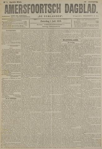 Amersfoortsch Dagblad / De Eemlander 1916-07-01