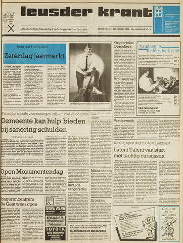 Leusder Krant 1988-09-15