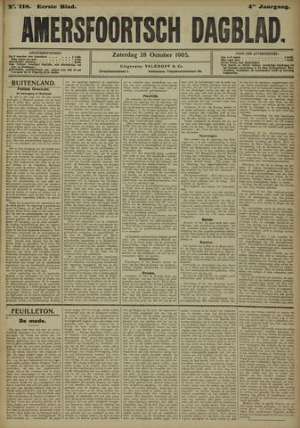 Amersfoortsch Dagblad 1905-10-28