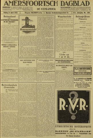 Amersfoortsch Dagblad / De Eemlander 1933-04-21