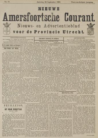 Nieuwe Amersfoortsche Courant 1903-09-26