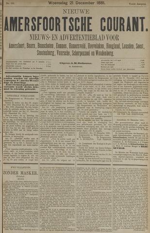 Nieuwe Amersfoortsche Courant 1881-12-21