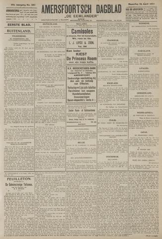 Amersfoortsch Dagblad / De Eemlander 1927-04-25
