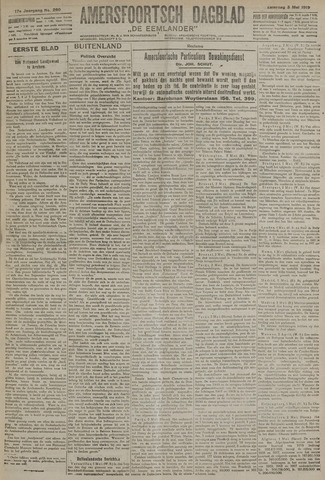 Amersfoortsch Dagblad / De Eemlander 1919-05-03