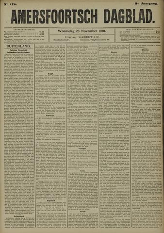 Amersfoortsch Dagblad 1910-11-23