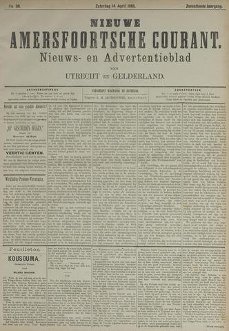 Nieuwe Amersfoortsche Courant 1888-04-14