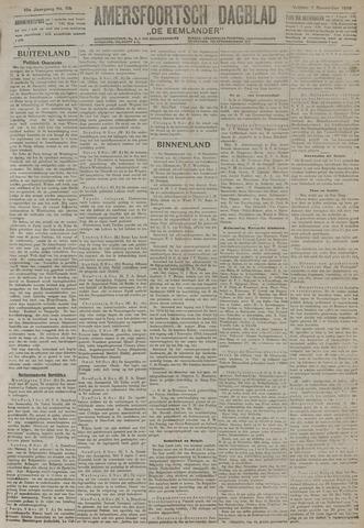 Amersfoortsch Dagblad / De Eemlander 1919-11-07