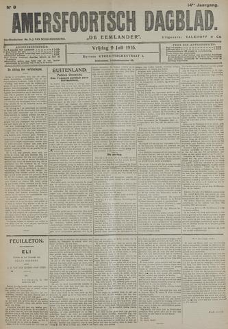 Amersfoortsch Dagblad / De Eemlander 1915-07-09