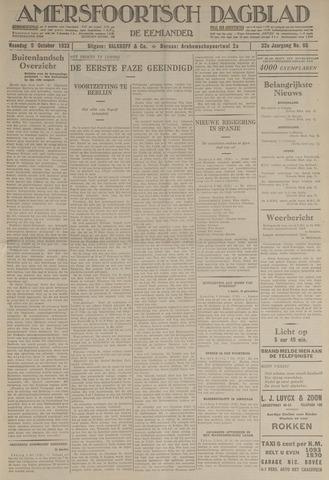 Amersfoortsch Dagblad / De Eemlander 1933-10-09