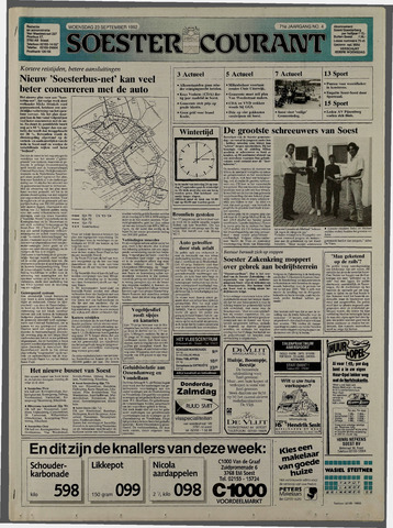 Soester Courant 1992-09-23
