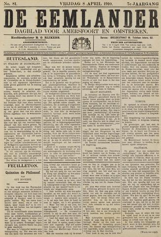 De Eemlander 1910-04-08