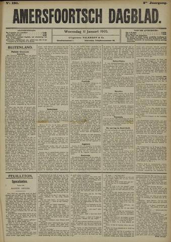 Amersfoortsch Dagblad 1905-01-11