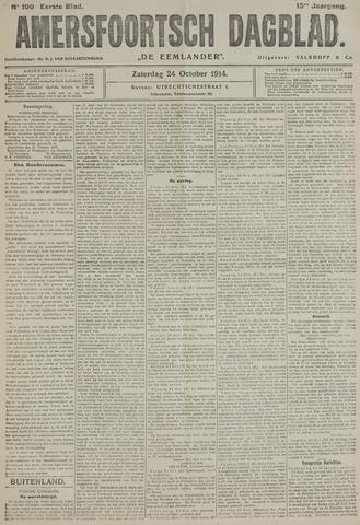 Amersfoortsch Dagblad / De Eemlander 1914-10-24