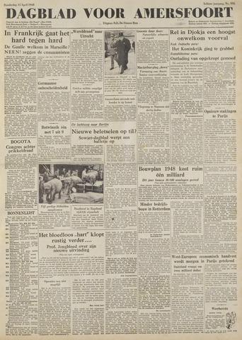 Dagblad voor Amersfoort 1948-04-15