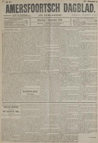 Amersfoortsch Dagblad / De Eemlander 1916-08-01