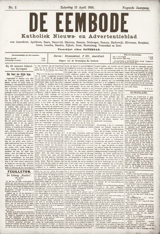 De Eembode 1895-04-13