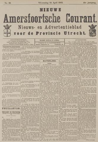 Nieuwe Amersfoortsche Courant 1912-04-24