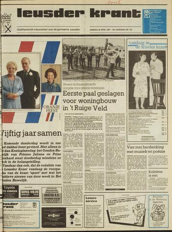 Leusder Krant 1987-04-28