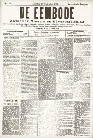 De Eembode 1903-09-26