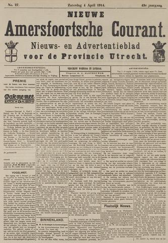 Nieuwe Amersfoortsche Courant 1914-04-04