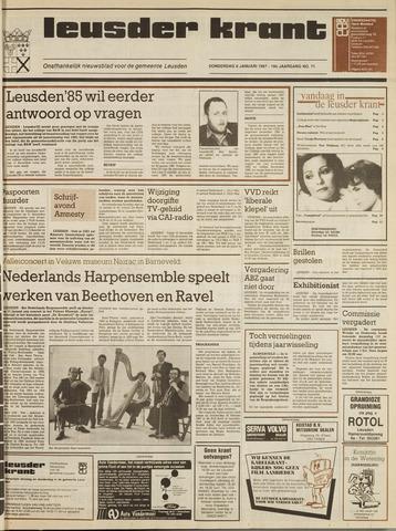 Leusder Krant 1987-01-08