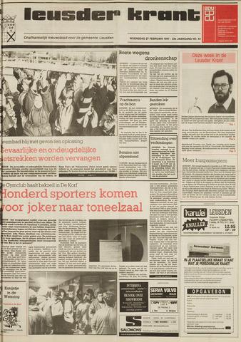 Leusder Krant 1991-02-27