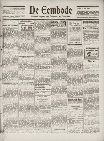 De Eembode 1933-06-16