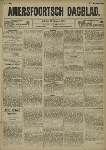 Amersfoortsch Dagblad 1905-01-13