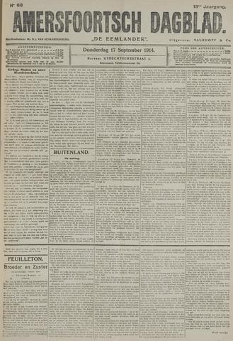 Amersfoortsch Dagblad / De Eemlander 1914-09-17