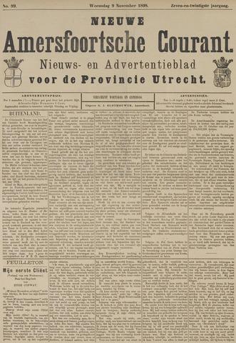 Nieuwe Amersfoortsche Courant 1898-11-09