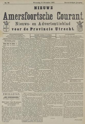 Nieuwe Amersfoortsche Courant 1907-12-11