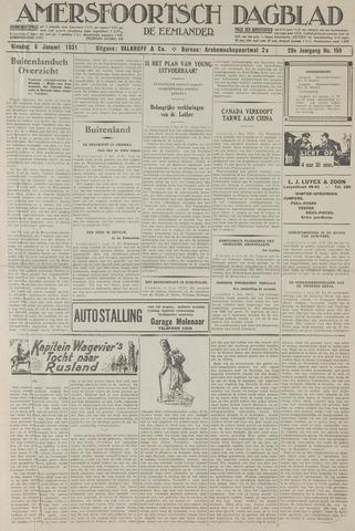 Amersfoortsch Dagblad / De Eemlander 1931-01-06