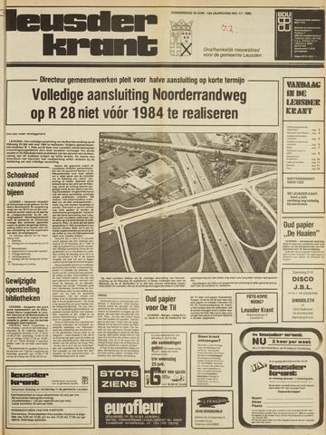 Leusder Krant 1980-06-19