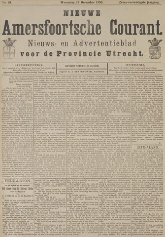 Nieuwe Amersfoortsche Courant 1898-12-14
