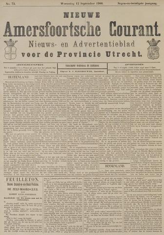 Nieuwe Amersfoortsche Courant 1900-09-12