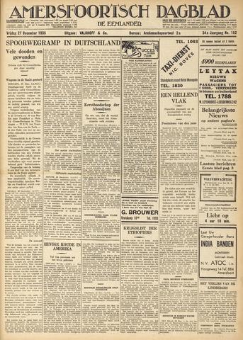 Amersfoortsch Dagblad / De Eemlander 1935-12-27