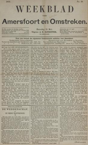 Weekblad voor Amersfoort en Omstreken 1872-05-11