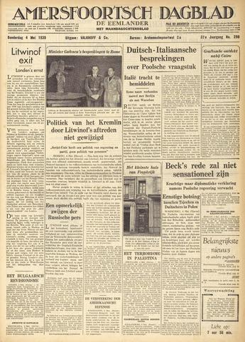 Amersfoortsch Dagblad / De Eemlander 1939-05-04