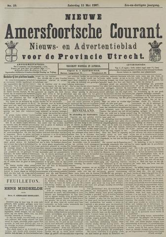 Nieuwe Amersfoortsche Courant 1907-05-11