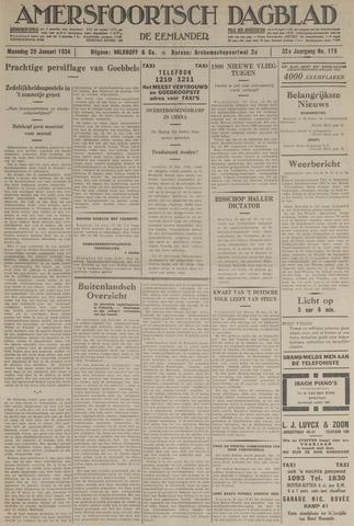 Amersfoortsch Dagblad / De Eemlander 1934-01-29